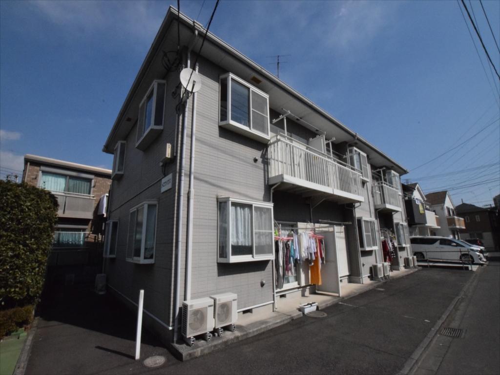 神奈川県相模原市中央区、古淵駅徒歩9分の築19年 2階建の賃貸アパート