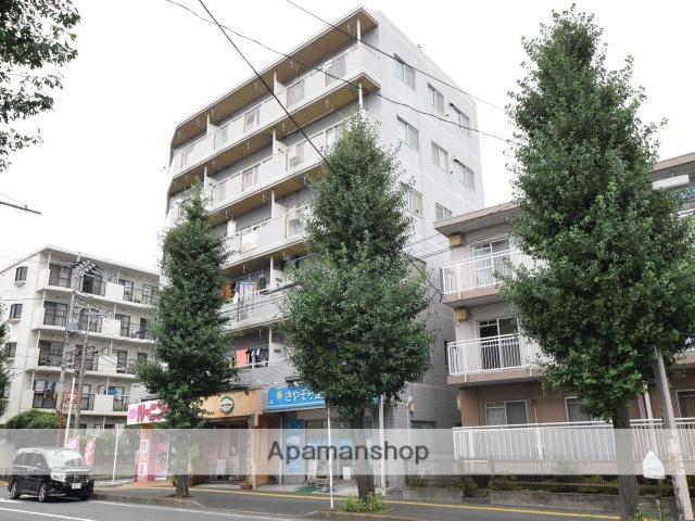 神奈川県相模原市中央区、矢部駅徒歩15分の築29年 6階建の賃貸マンション