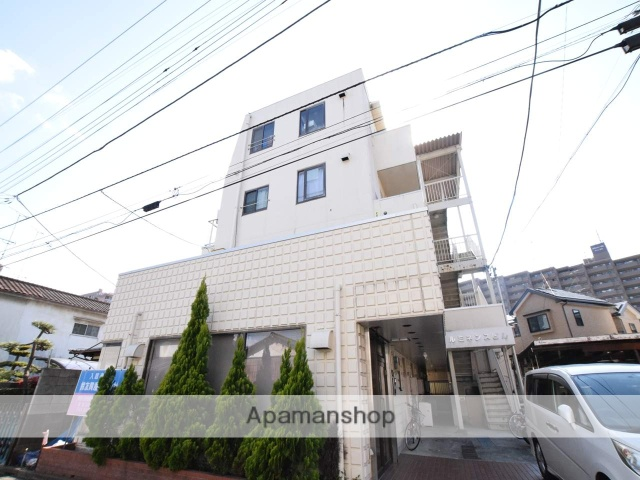 神奈川県相模原市中央区、相模原駅徒歩24分の築30年 4階建の賃貸マンション