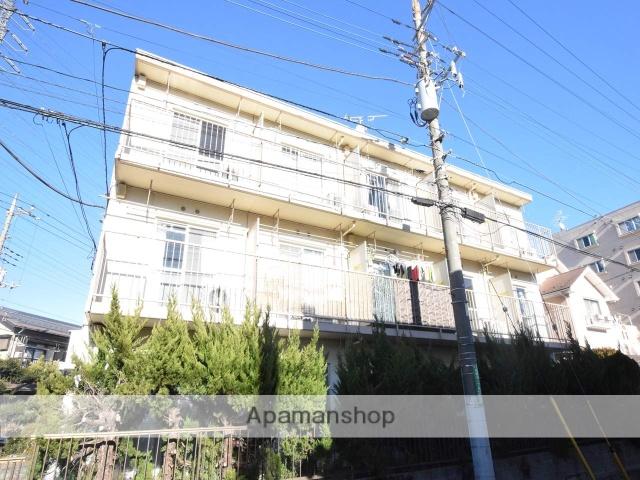 神奈川県相模原市緑区、橋本駅徒歩5分の築33年 3階建の賃貸マンション