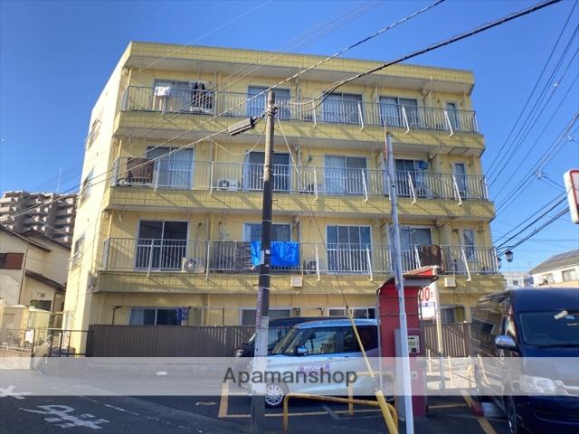 神奈川県相模原市中央区、相模原駅徒歩26分の築30年 4階建の賃貸マンション