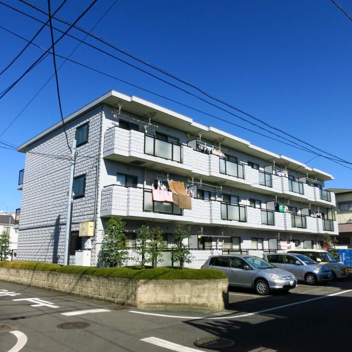 神奈川県相模原市中央区、古淵駅後徒歩30分の築25年 3階建の賃貸マンション