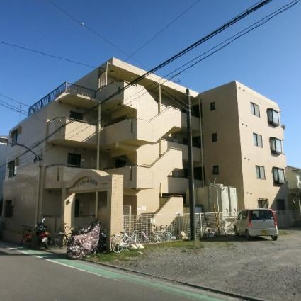 神奈川県相模原市中央区、淵野辺駅徒歩22分の築30年 4階建の賃貸マンション