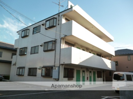 神奈川県相模原市中央区、相模原駅徒歩28分の築27年 3階建の賃貸マンション