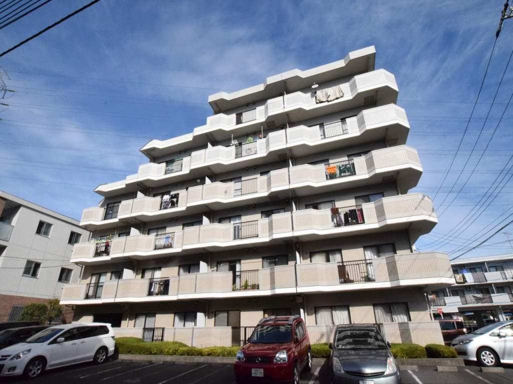 神奈川県相模原市南区、古淵駅徒歩3分の築26年 6階建の賃貸マンション