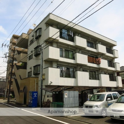 神奈川県相模原市中央区、矢部駅徒歩10分の築26年 4階建の賃貸マンション