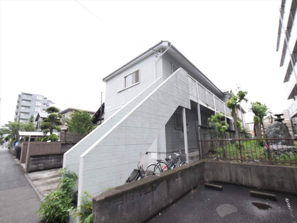 神奈川県相模原市中央区、矢部駅徒歩15分の築23年 2階建の賃貸アパート