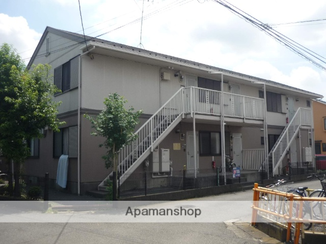 神奈川県相模原市中央区、淵野辺駅徒歩10分の築25年 2階建の賃貸アパート