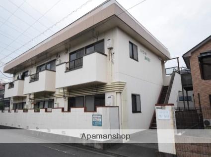 神奈川県相模原市中央区、矢部駅徒歩6分の築28年 2階建の賃貸アパート