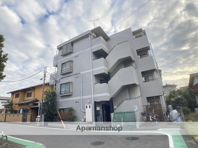 神奈川県相模原市中央区、相模原駅徒歩10分の築25年 4階建の賃貸マンション