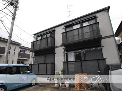 神奈川県相模原市緑区、相原駅徒歩16分の築22年 2階建の賃貸アパート