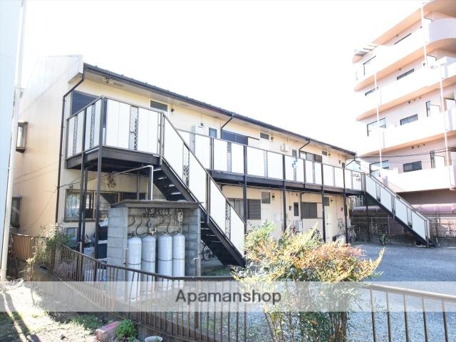 神奈川県相模原市中央区、相模原駅徒歩15分の築32年 2階建の賃貸アパート