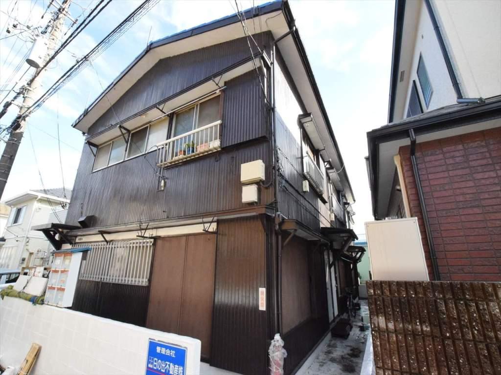 神奈川県相模原市中央区、古淵駅徒歩28分の築45年 2階建の賃貸アパート