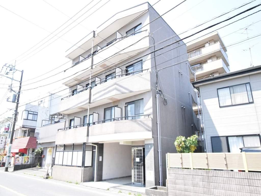 神奈川県相模原市緑区、橋本駅徒歩18分の築24年 4階建の賃貸マンション