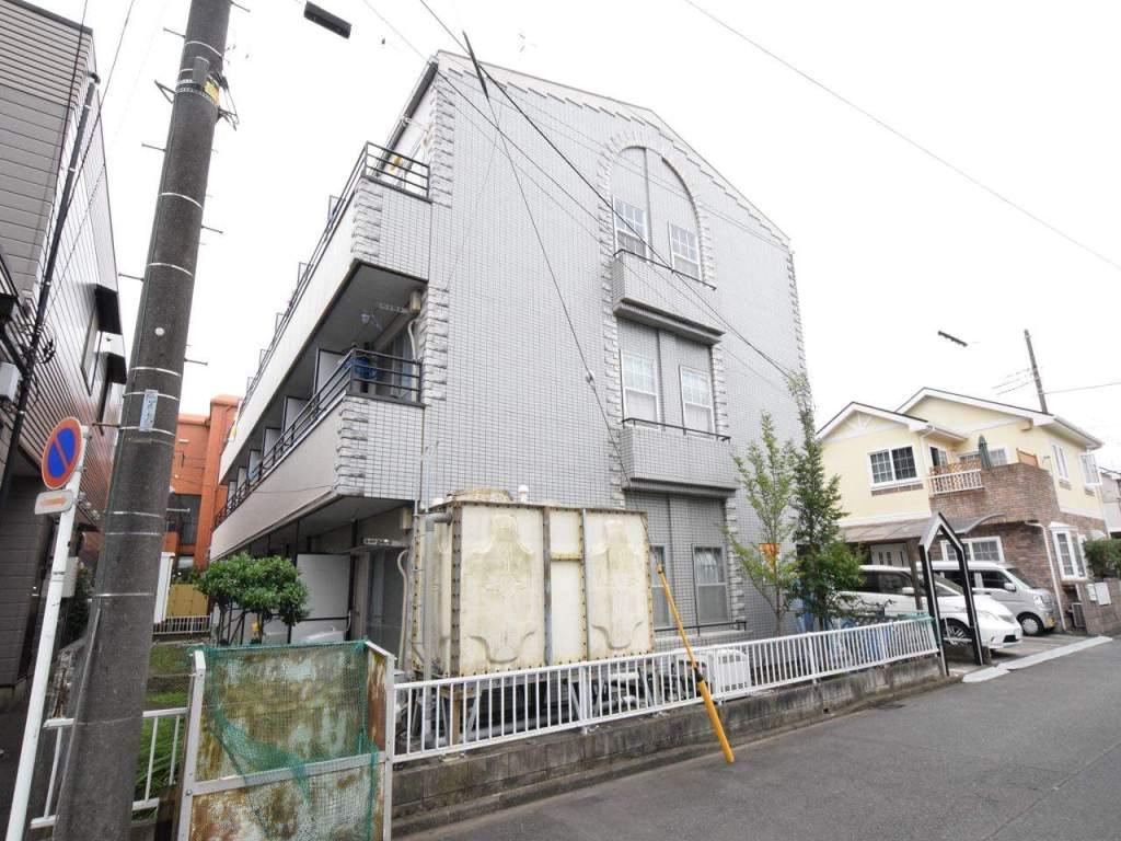 神奈川県相模原市中央区、古淵駅徒歩18分の築29年 3階建の賃貸マンション
