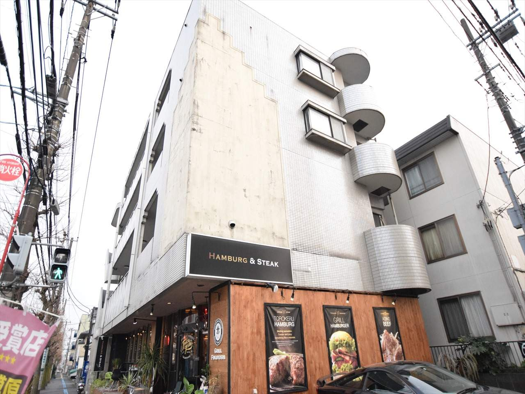 神奈川県相模原市中央区、矢部駅徒歩22分の築23年 4階建の賃貸マンション