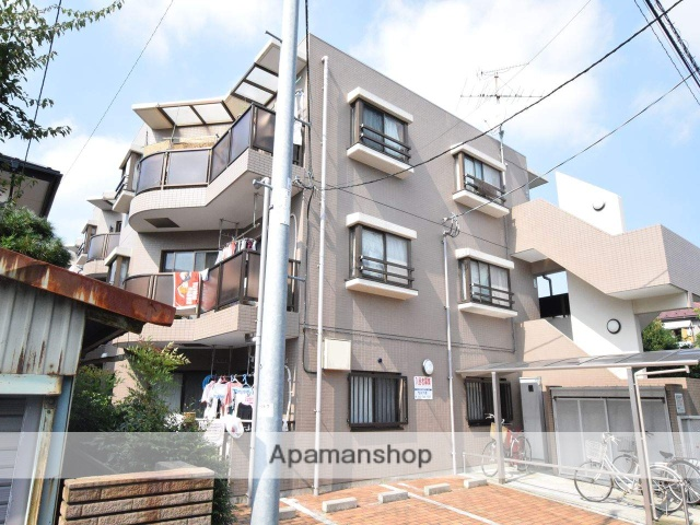 神奈川県相模原市中央区、古淵駅徒歩35分の築23年 3階建の賃貸マンション