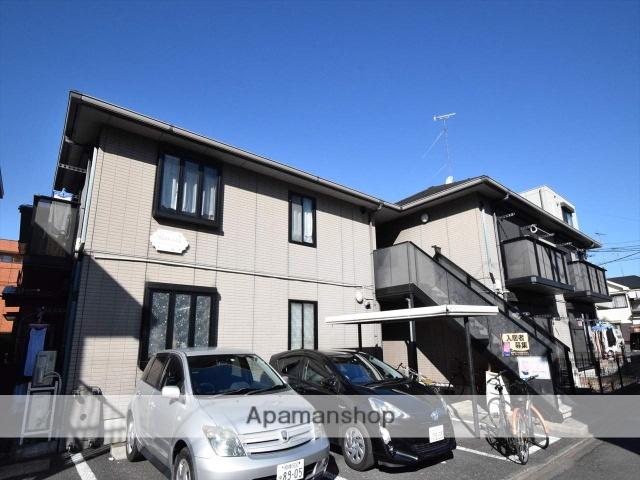 神奈川県相模原市中央区、相模原駅徒歩20分の築20年 2階建の賃貸アパート