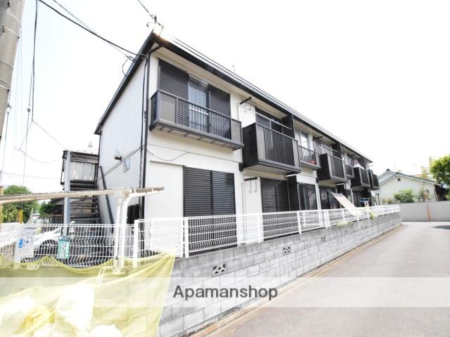 神奈川県相模原市緑区、橋本駅徒歩15分の築30年 2階建の賃貸アパート