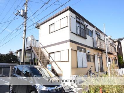 神奈川県相模原市中央区、矢部駅徒歩12分の築31年 2階建の賃貸アパート