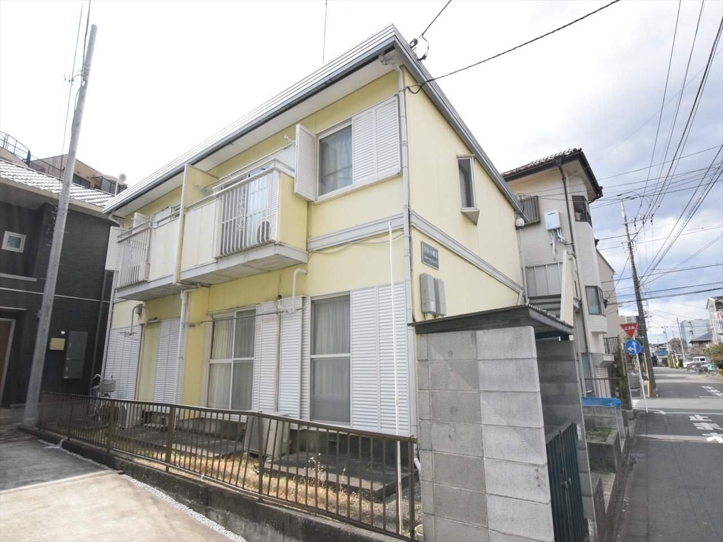 神奈川県相模原市中央区、淵野辺駅徒歩4分の築30年 2階建の賃貸アパート