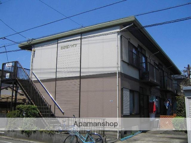 神奈川県相模原市中央区、矢部駅徒歩12分の築33年 2階建の賃貸アパート