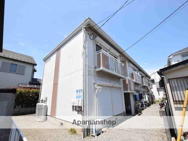 神奈川県相模原市中央区、淵野辺駅徒歩18分の築29年 2階建の賃貸アパート
