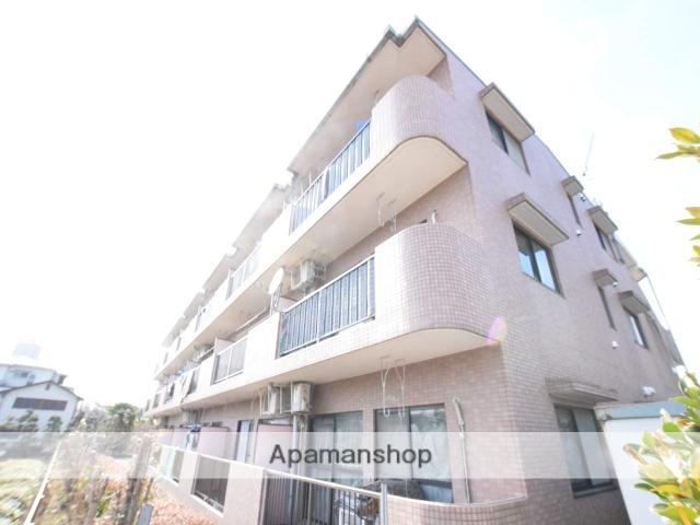 神奈川県相模原市緑区、橋本駅徒歩10分の築23年 3階建の賃貸マンション