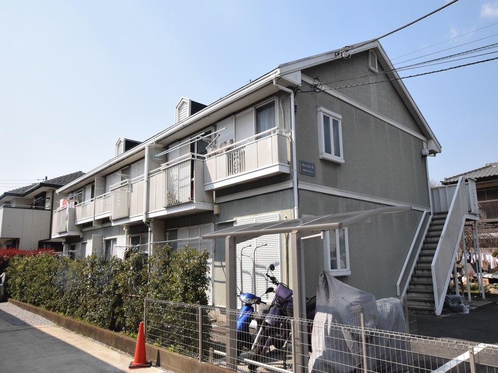神奈川県相模原市南区、下溝駅徒歩5分の築25年 2階建の賃貸アパート