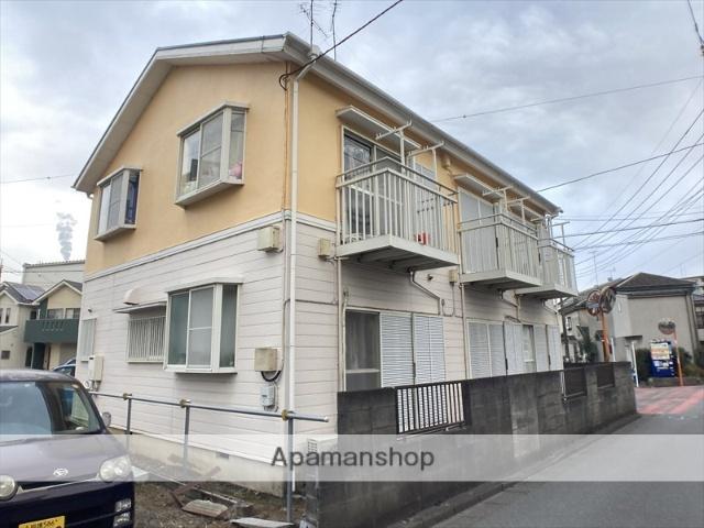 神奈川県相模原市緑区、橋本駅徒歩20分の築23年 2階建の賃貸アパート