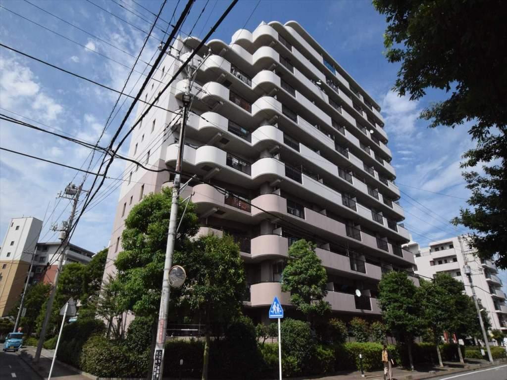 神奈川県相模原市中央区、相模原駅徒歩15分の築22年 11階建の賃貸マンション