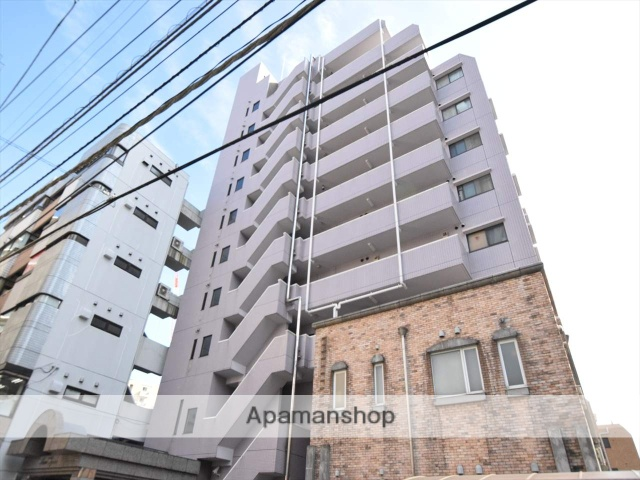 神奈川県相模原市中央区、相模原駅徒歩3分の築23年 11階建の賃貸マンション