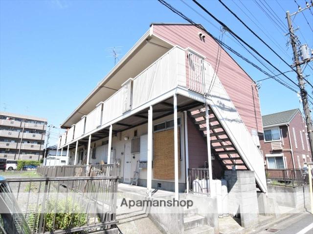 神奈川県相模原市中央区、相模原駅徒歩16分の築34年 2階建の賃貸アパート
