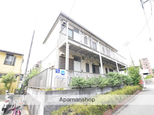 東京都町田市、多摩境駅徒歩7分の築23年 2階建の賃貸アパート