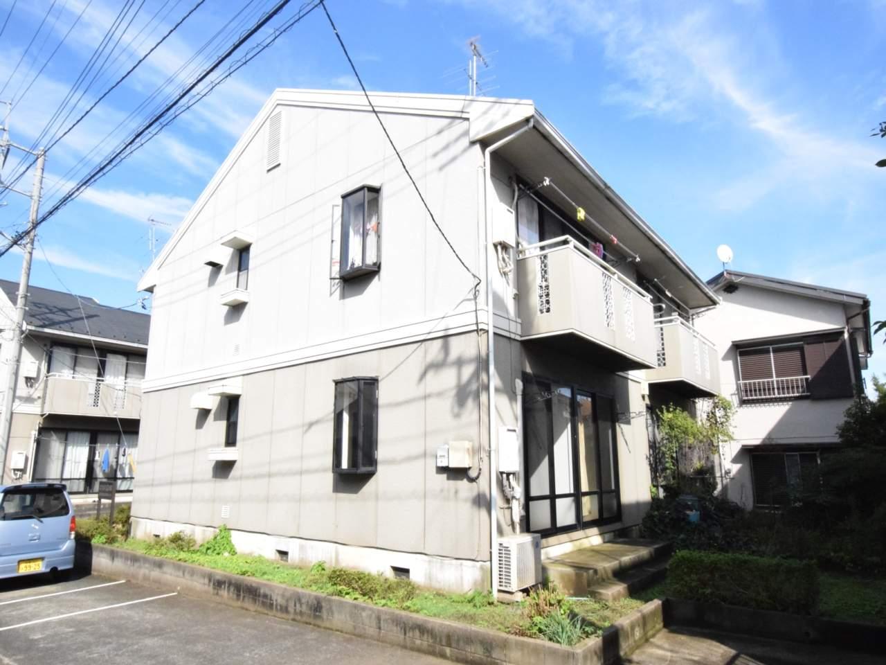 神奈川県相模原市緑区、橋本駅徒歩18分の築31年 2階建の賃貸アパート