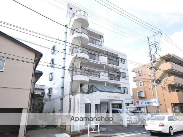 神奈川県相模原市中央区、相模原駅徒歩13分の築27年 5階建の賃貸マンション