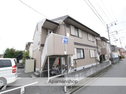 神奈川県相模原市中央区、淵野辺駅バス10分光が丘1丁目下車後徒歩2分の築29年 2階建の賃貸アパート