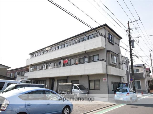 神奈川県相模原市中央区、矢部駅徒歩28分の築14年 3階建の賃貸アパート