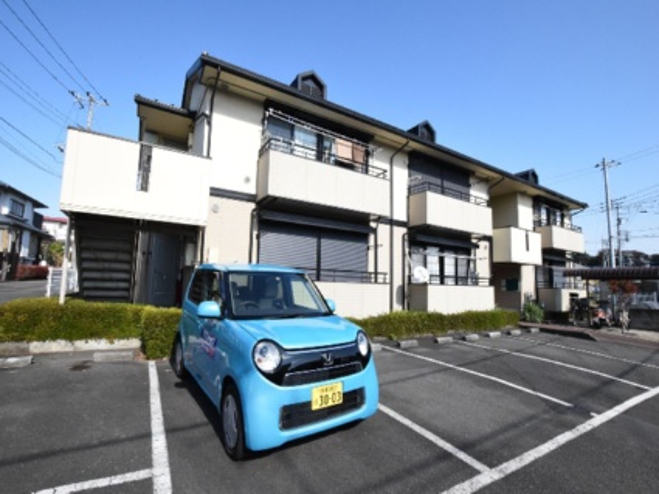 東京都町田市、橋本駅徒歩22分の築24年 2階建の賃貸アパート