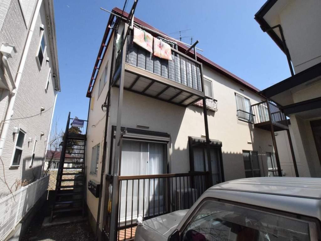 神奈川県相模原市南区、古淵駅徒歩10分の築41年 2階建の賃貸アパート