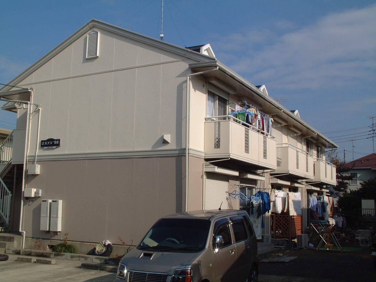 神奈川県相模原市緑区、橋本駅バス10分森ノ上下車後徒歩3分の築24年 2階建の賃貸アパート
