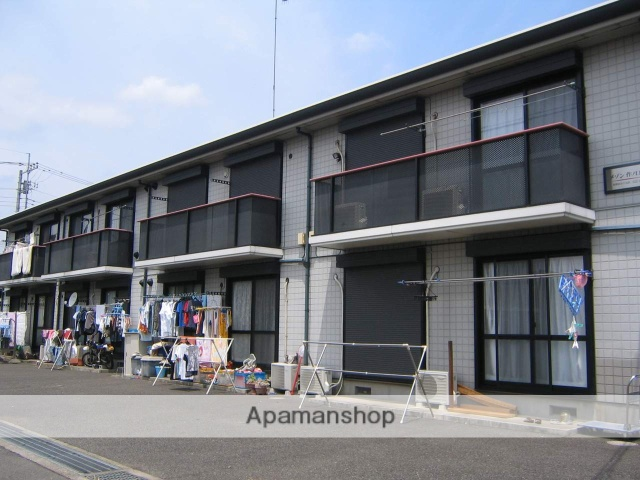神奈川県相模原市緑区、上溝駅バス9分作ノ口下車後徒歩3分の築21年 2階建の賃貸アパート