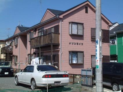 神奈川県相模原市緑区、橋本駅徒歩24分の築25年 2階建の賃貸アパート