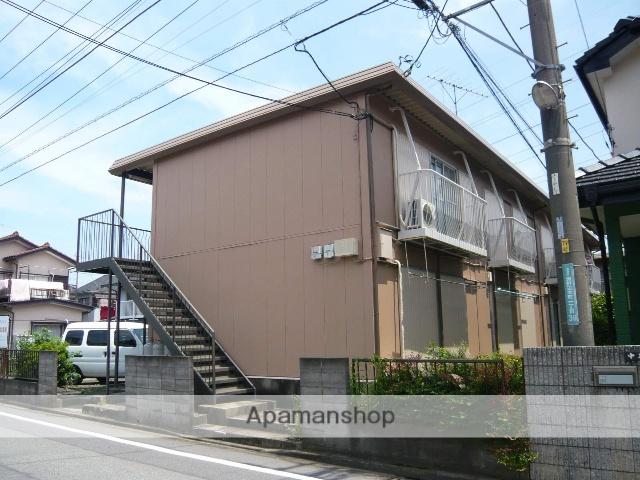 神奈川県相模原市中央区、淵野辺駅徒歩20分の築36年 2階建の賃貸アパート