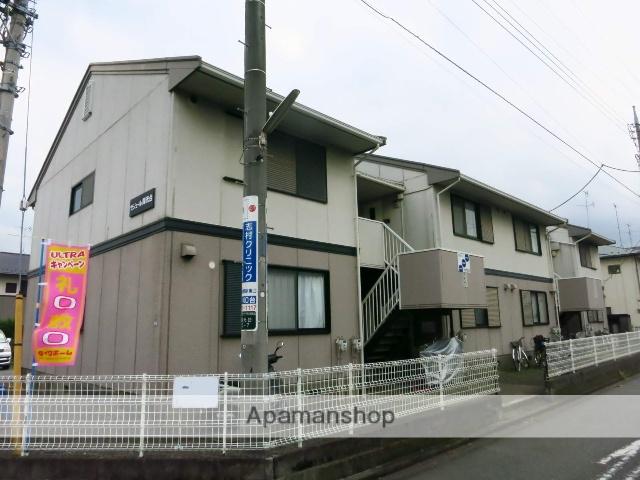 神奈川県相模原市中央区、淵野辺駅バス10分光が丘三丁目下車後徒歩1分の築28年 2階建の賃貸アパート