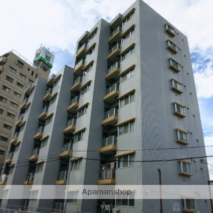 神奈川県相模原市中央区、古淵駅徒歩32分の築27年 8階建の賃貸マンション