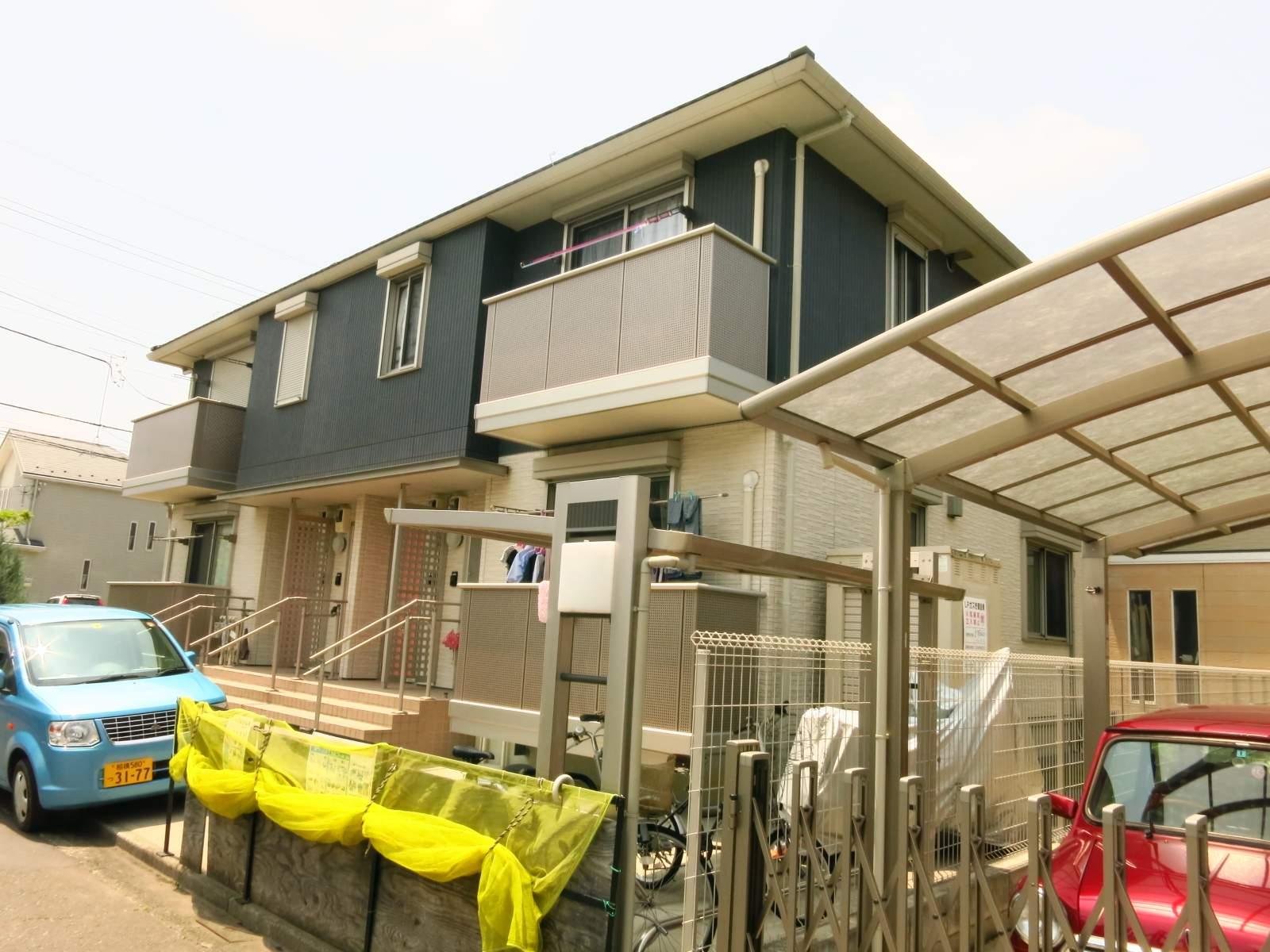 神奈川県相模原市緑区、橋本駅バス9分二本松下車後徒歩6分の築8年 2階建の賃貸アパート