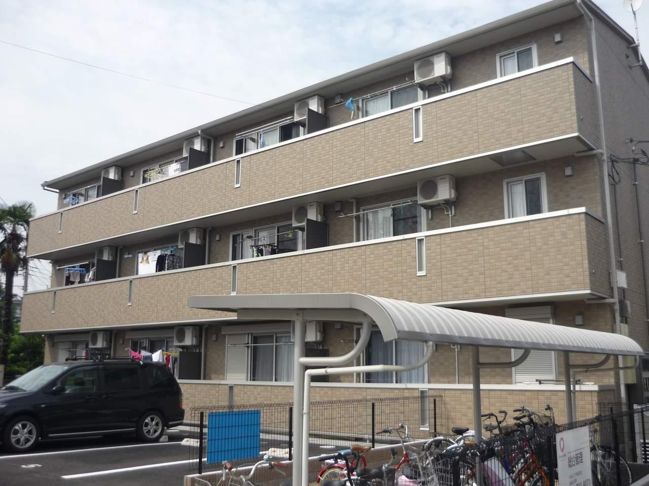 神奈川県相模原市中央区、古淵駅徒歩35分の築7年 3階建の賃貸アパート