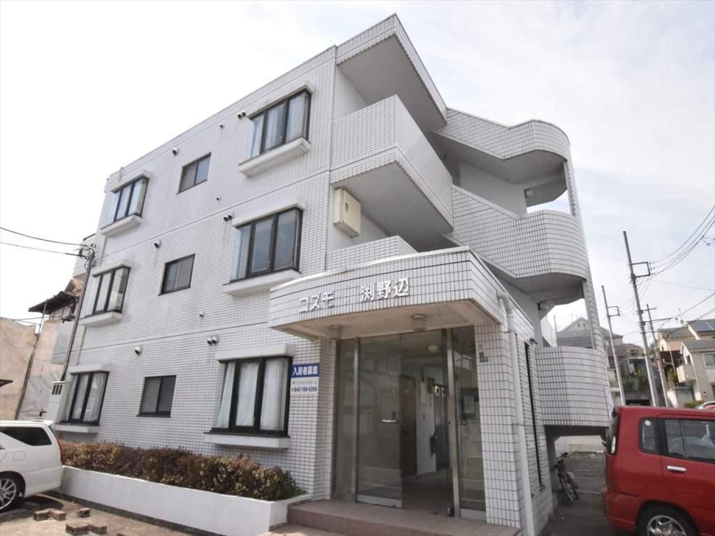 神奈川県相模原市中央区、古淵駅徒歩16分の築26年 3階建の賃貸マンション