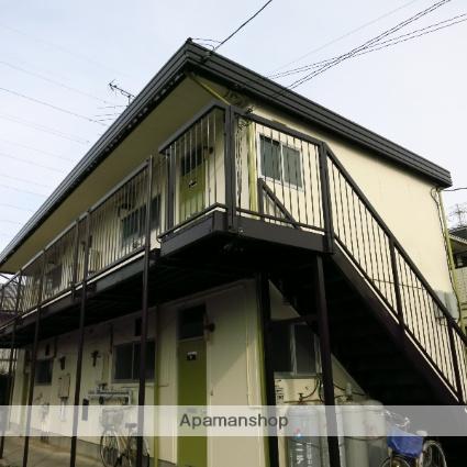 神奈川県相模原市中央区、淵野辺駅徒歩24分の築38年 2階建の賃貸アパート